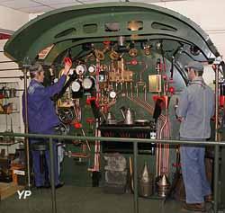 Locomotive à vapeur 141 C 014 (Musée du Cheminot)