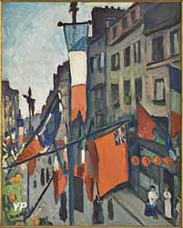 14 juillet au Havre (Albert André) (Musée Albert André)