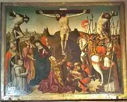 La Crucifixion (Primitif de l'Ecole d'Avignon, 1492)