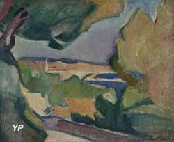 Paysage méditerranéen (Othon Friesz)