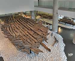 musée d'Histoire de Marseille, épave Jules Vernes (Ange Lorente)