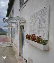 Maison d'Izieu. Mémorial des enfants juifs exterminés.