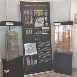 Exposition temporaire  2019 : Des pierres qui nous font signe (Musée Archéologique Jean Saluste)
