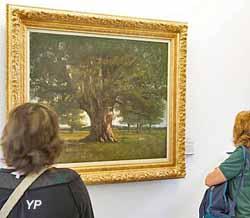 Le chêne de Flagey (Gustave Courbet, 1864) (Y. Petit)
