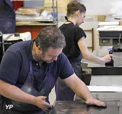 Atelier d'estampe