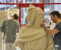 Ateliers de moulage de la Rmn-Grand Palais