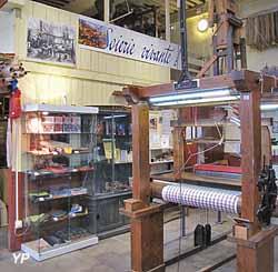 Atelier de tissage (Soieirie Vivante)