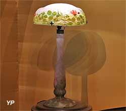 Lampe Bouton de Rose (Daum frères)