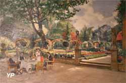 Le Goûter sur la terrasse (Marcel Corrette)