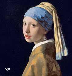 La jeune fille à la perle (Johannes Vermeer) (Musée des Dentelles et Broderies de Caudry)