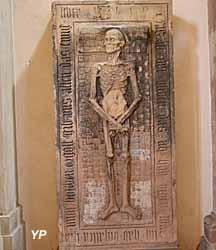 Dalle funéraire de Nicolas Roeder de Tiersberg, vers 1510