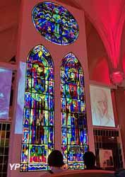 Vendée Vitrail (église Saint-Hilaire) (Mairie de Mortagne-sur-Sèvre)