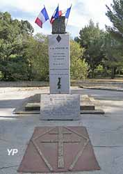 Chemin de la mémoire, La Londe les Maures, 1942-1944 (Souvenir français La Londe)