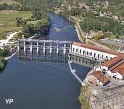 Barrage de Tuilières (EDF - Didier Marc)