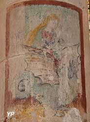 Peinture murale XVIème siècle