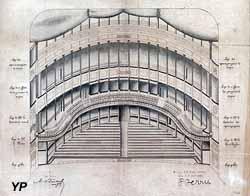 Intérieur du théâtre municipal, 1898 (Numérisation COPEIA)