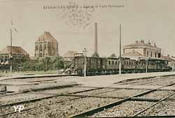 Gare d'Epinac et puits Hottinguer