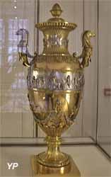 Vase (argent et argent doré, 1825)