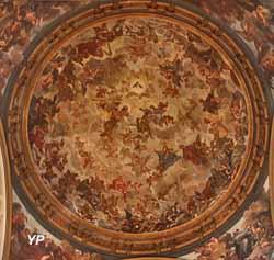 Coupole avec fresque dédiée à la gloire céleste (Claude Jacquart)