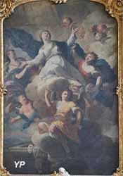 L'Assomption de la Vierge par Jean Girardet