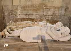 Gisants d'Henri III de Vaudémont et d'Isabelle de Lorraine (14e s.)