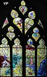 Vitrail de la création (M.Chagall)