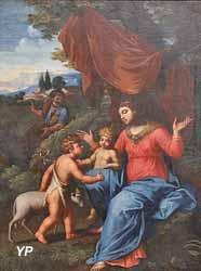 La Vierge et l'Enfant avec saint Jean-Baptiste