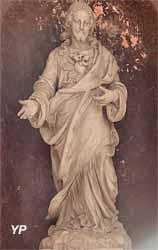 Statue du Sacré-Cœur (Victor Hue, fin du XIXe siècle)
