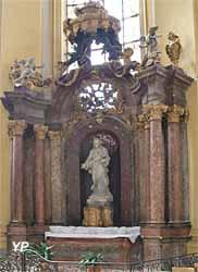 Retable du Sacré-Cœur (Louis et Joseph Mansiaux, milieu du XVIIIe siècle)