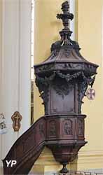 Chaire à prêcher (François Vallier, 1745)
