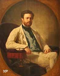 Portrait d'Edmond About (Félix-Henri Giacomotti)