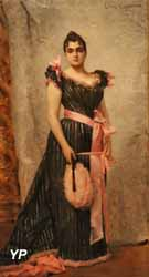 Portrait de la femme de l'artiste (Léon-François Comerre, 1892)