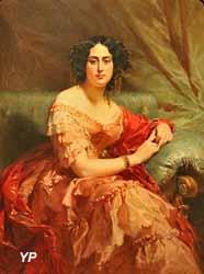 Portrait de femme (Edouard Dubufe, 1851)