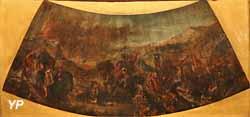 Attila envahissant l'Italie (Eugène Delacroix, 1851)
