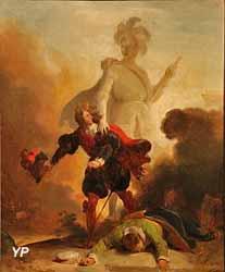 Don Juan et la statue du commandeur (Alexandre-Evariste Fragonard)