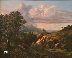 Vue des environs de Rome (Benjamin Netter, 1843)