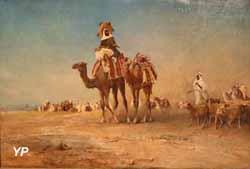 La Caravane (Jules-Edouard Magy, 1863)