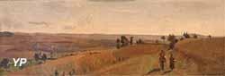 Paysage du Morvan (Jean-Baptiste Corot, 1855)