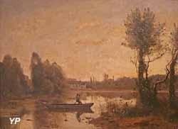 L'étang de Ville d'Avray (Jean-Baptiste Camille Corot)
