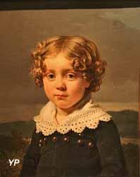 Portrait de jeune garçon (Michel Martin Drolling, 1818)