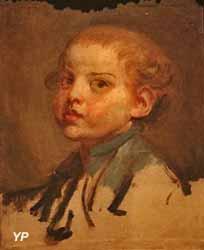 Portrait de Pierre Alexandre Wille enfant (Jean-Honoré Greuze)