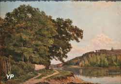 Paysage des bords de la Garonne (Hyppolyte Pradelles)