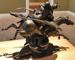 Thésée combattant le centaure Bienor (Antoine-Louis Barye)