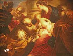 Adoration des Mages (Valerio Castello, 1650)