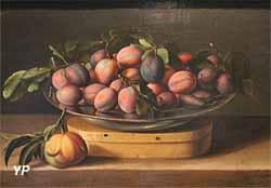 Plat de prunes (Louise Moillon, 1637)