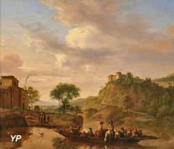 Le Passage du bac (Adriaen van de Velde)