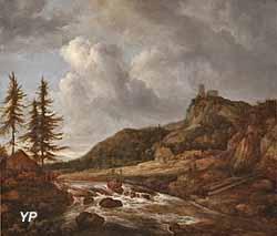 Paysage montagneux avec torrent (Jacob van Ruisdael)
