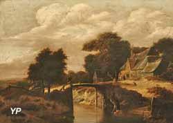 Le Petit Pont (Gillis Rombouts)