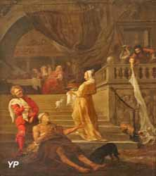 Lazare et le mauvais riche (Gabriel Metsu)