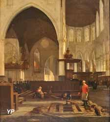 Intérieur de la Oude Kerk d'Amsterdam (Emmanuel de Witte)